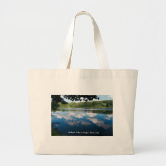 Holland Lake Scenic in Eagan Large Tote Bag