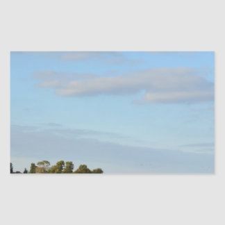 Holland Landscape panorama Rectangle Stickers
