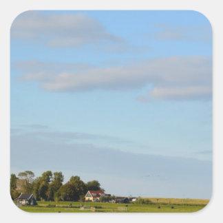 Holland Landscape panorama Sticker