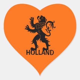Holland Lion Heart Sticker