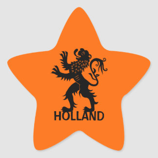 Holland Lion Sticker