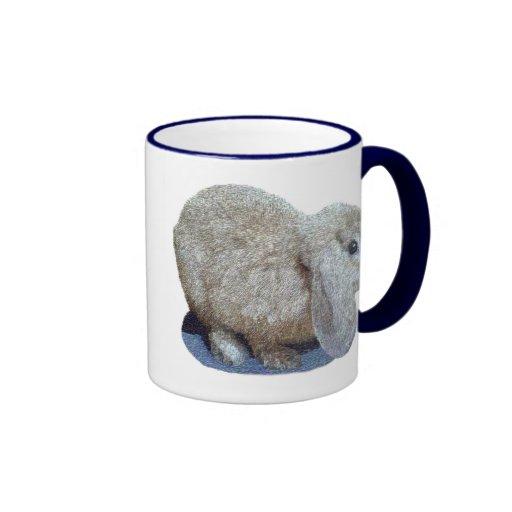Holland Lop Ear Rabbit Mugs