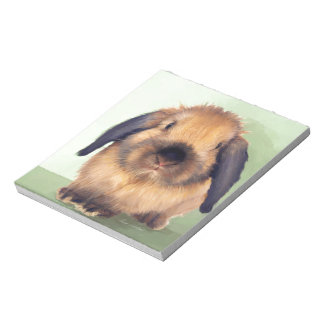 Holland Lop Notepad