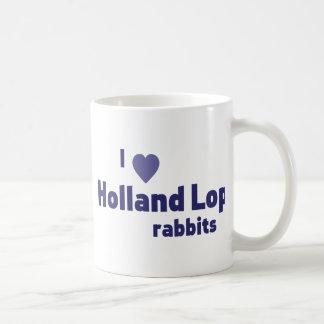 Holland Lop rabbits Basic White Mug