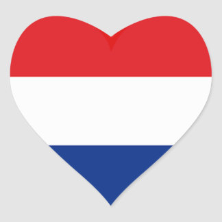Holland Love Heart Sticker
