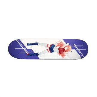 Holland Manga girl dressed in Flag - Netherlands 21.6 Cm Skateboard Deck