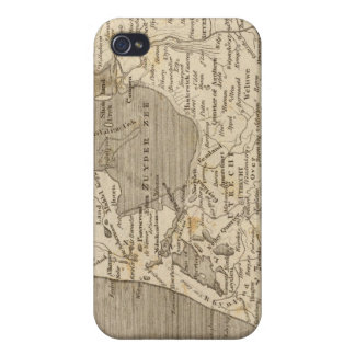 Holland Map by Arrowsmith iPhone 4/4S Covers