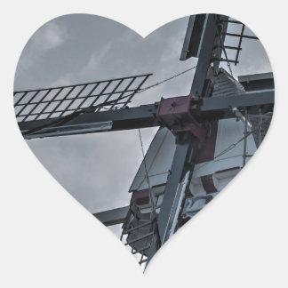 Holland MI Windmill Heart Sticker