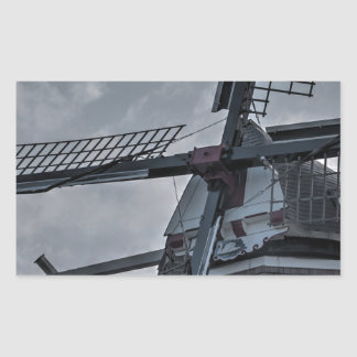 Holland MI Windmill Rectangular Sticker