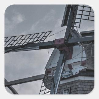 Holland MI Windmill Square Sticker