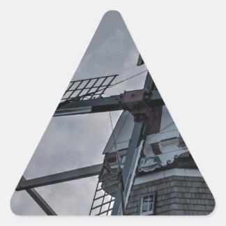 Holland MI Windmill Triangle Sticker