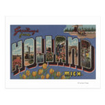 Holland, Michigan - Large Letter Scenes 2 Postcard