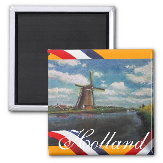 Holland Mill Fridge Magnet