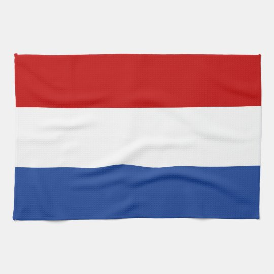 holland netherlands country flag towel