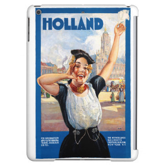 Holland Netherlands Restored Vintage Travel Poster