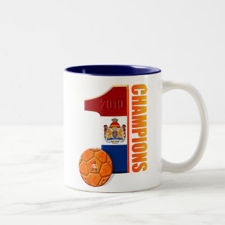 Holland No 1 Champions 2010 Two-Tone Coffee Mug