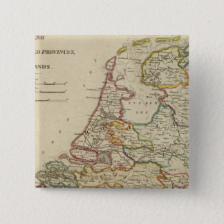Holland Or The Seven United Provinces 15 Cm Square Badge