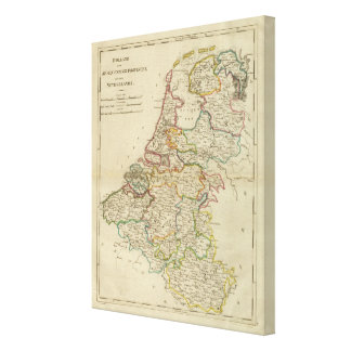 Holland Or The Seven United Provinces Canvas Print