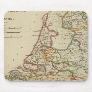 Holland Or The Seven United Provinces Mouse Mat