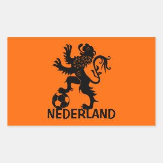 Holland Rectangular Sticker