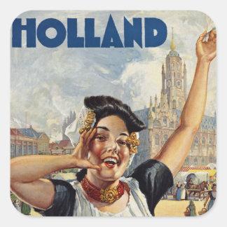 Holland Square Sticker