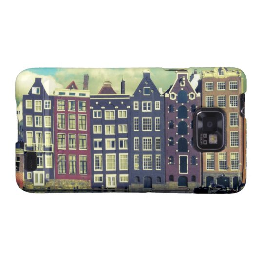 Holland vintage houses samsung galaxy phone case