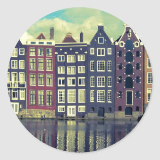 Holland vintage houses sticker