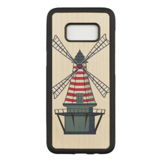 Holland Windmill Carved Samsung Galaxy S8 Case