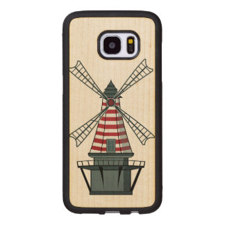 Holland Windmill Wood Samsung Galaxy S7 Edge Case
