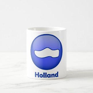 Holland Wooden Shoe Basic White Mug