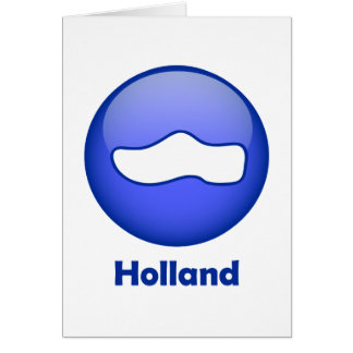 Holland Wooden Shoe Greeting Card