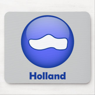 Holland Wooden Shoe Mouse Pad