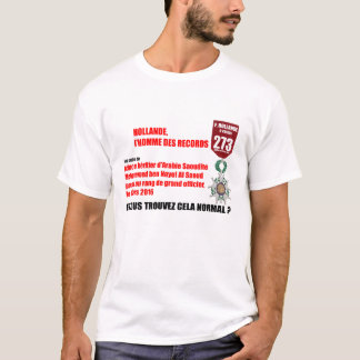 Hollande Record Legions d'Honneur 2 T-Shirt