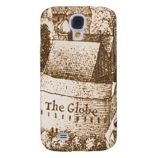 Hollar s Globe Theatre Engraving Samsung Galaxy S4 Cover