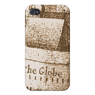 Hollar s Globe Theatre Engraving iPhone 4/4S Cases