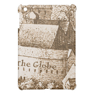 Hollar's Globe Theatre Engraving iPad Mini Cases