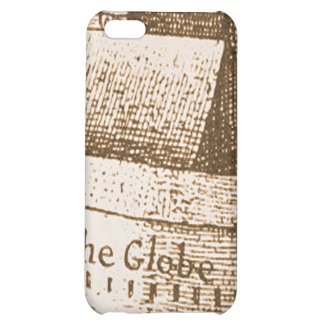 Hollar's Globe Theatre Engraving Cover For iPhone 5C