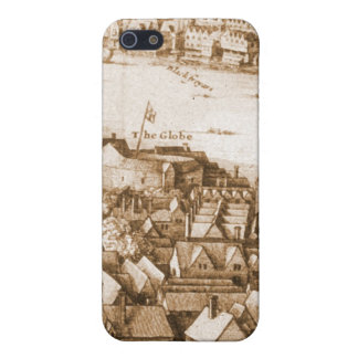 Hollar's Globe Theatre Long View of London iPhone 5/5S Case