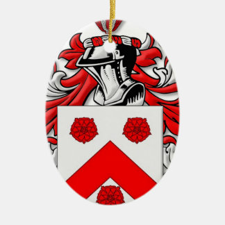 Holleman Coat of Arms Ceramic Oval Decoration