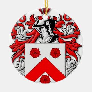 Holleman Coat of Arms Round Ceramic Decoration