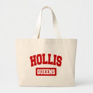 Hollis, Queens, NYC Large Tote Bag