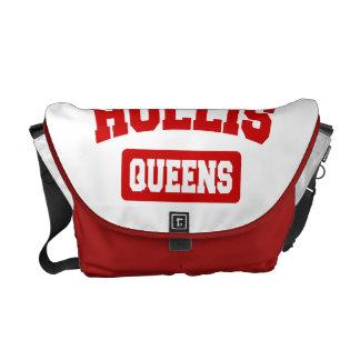 Hollis, Queens, NYC Messenger Bag