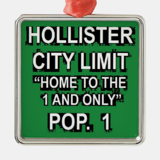 Hollister One and Only Silver-Colored Square Decoration
