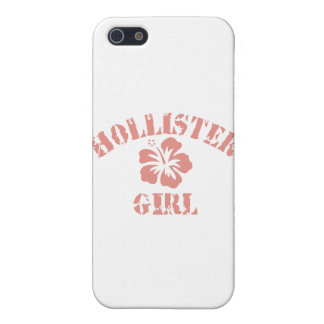 Hollister Pink Girl Cover For iPhone 5/5S