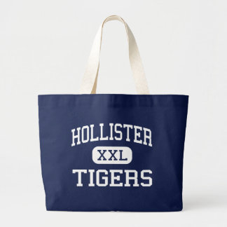 Hollister - Tigers - High - Hollister Missouri Large Tote Bag