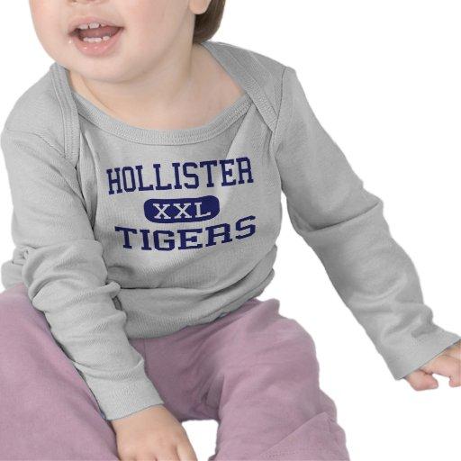 Hollister - Tigers - High - Hollister Missouri T Shirts