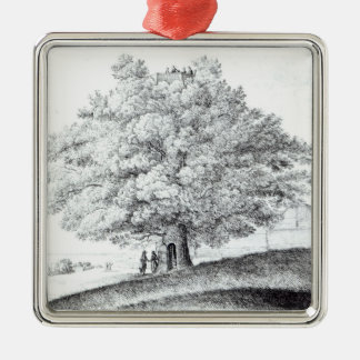 Hollow Tree at Hampstead, 1663 Christmas Ornament
