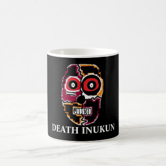 holloween (2), DEATH INUKUN Basic White Mug