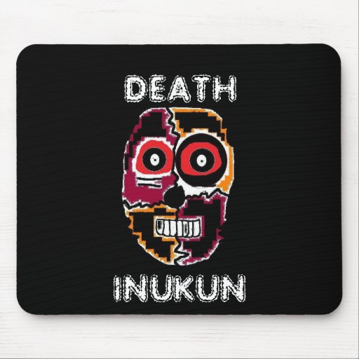 holloween (2), DEATH, INUKUN Mousepad