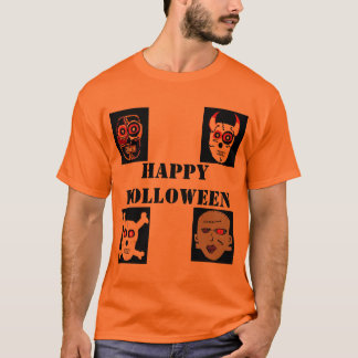 holloween (2), DEVILS COUSIN (2), Bones (3), fr... T-Shirt